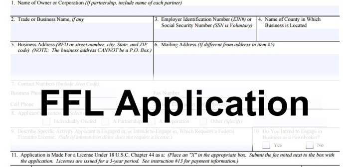 FFL Application