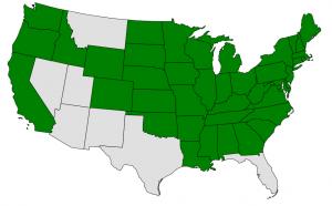 Hazelnut map