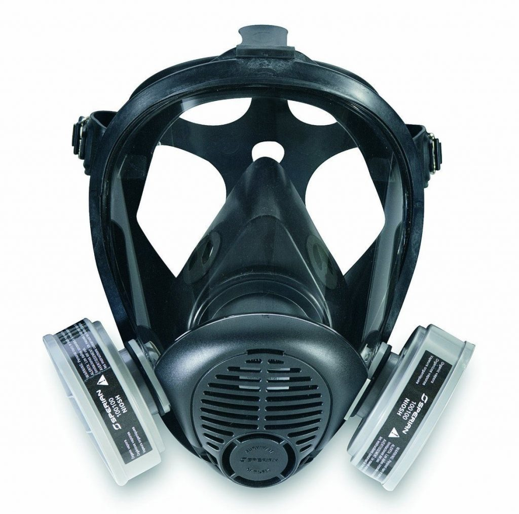Sperian 766184 Survivair Opti-Fit Silicone Full Facepiece Respirator