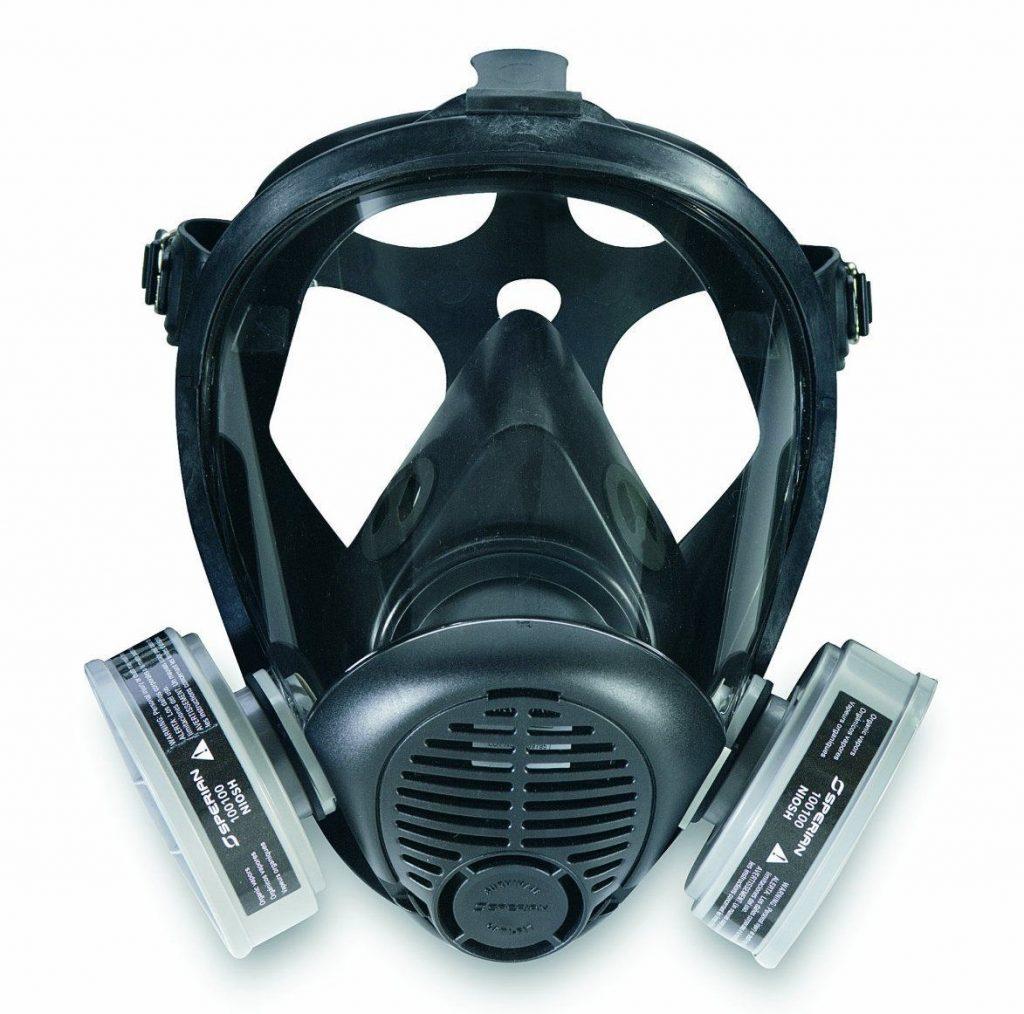 Sperian 766184 Survivair Opti-Fit Silicone Full Facepiece Respirator