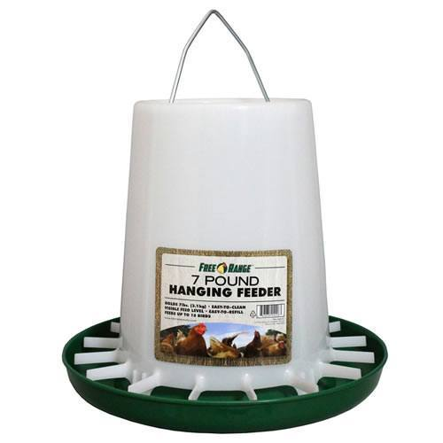 Harris Farms 4226 7-Pound Plastic Hanging Poultry Feeder