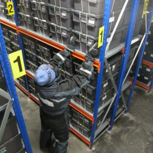 Storage containers in Svalbard